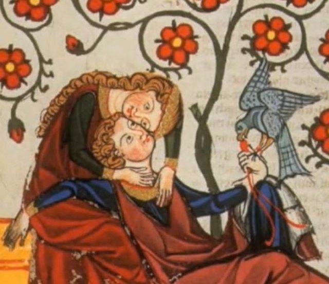 cours d'amour au XIIe siècle