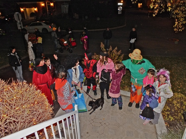 Halloween : ambiance dans la rue - Photo T-Bear