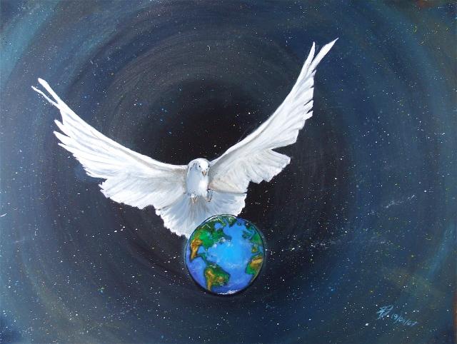 La paix - Peint par T-Bear