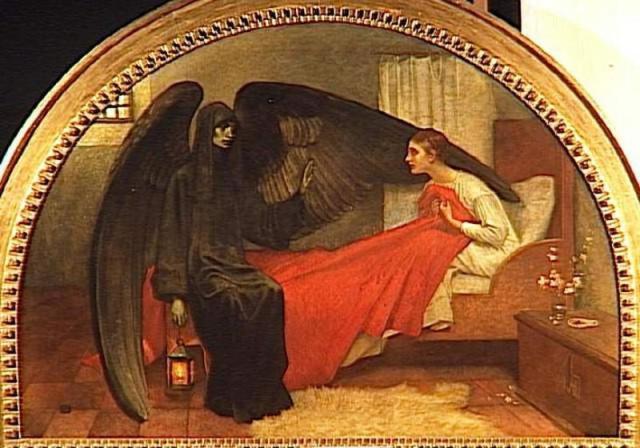 La jeune fille et la Mort - peinture de Hans Baldung Grien