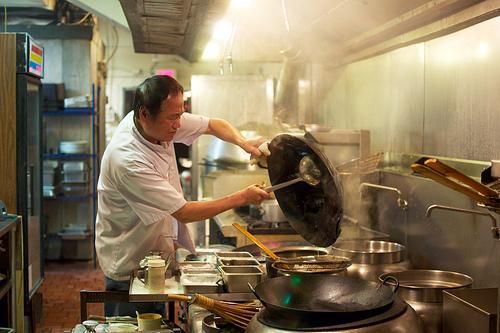 Slurp miamiam wok de poulet et nouilles chinoises for Cuisinier wok