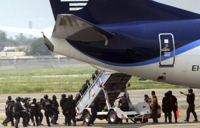 intercéption d'un avion détourné