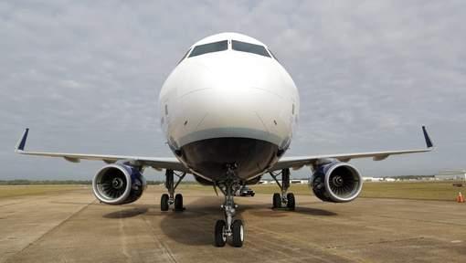 nez d'avion au sol
