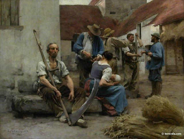 Peinture de Léon Lhermitte