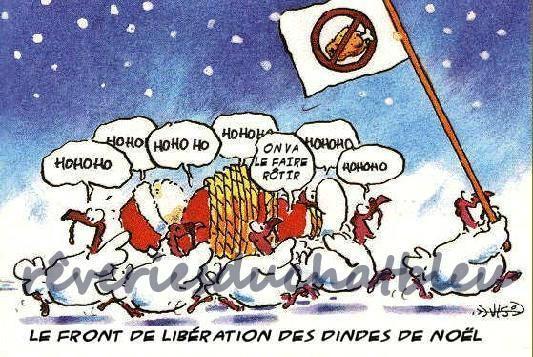 fr5ont de libération des dindes
