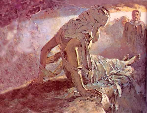 Résurrection de Lazare - peintre inconnu de T-Bear