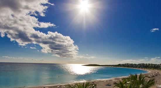 plage aux Caraïbes