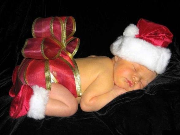 Un des cadeaux laissé par le Père Noël aux vierges sages