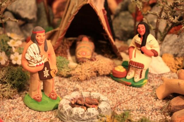 grande crèche Amérindienne