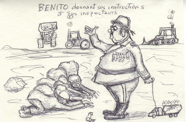 caricature retrouvée par hasard de Ben A... par T-Bear