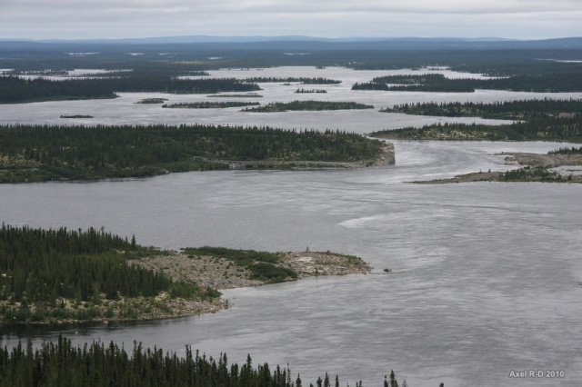 La région du lac Fontange- rivière Laforge et rivière Caniapiscau