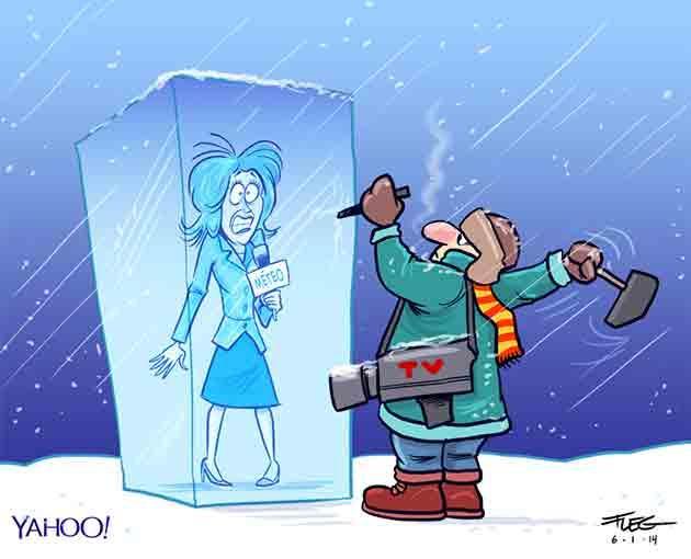 météorologiste gelée Fleg