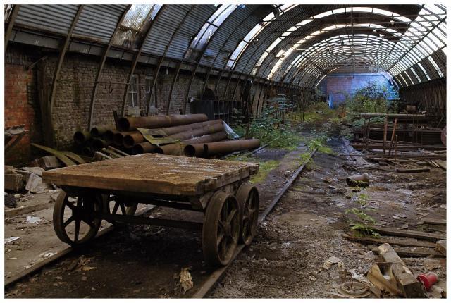 friches industrielles dues aux délocalisations