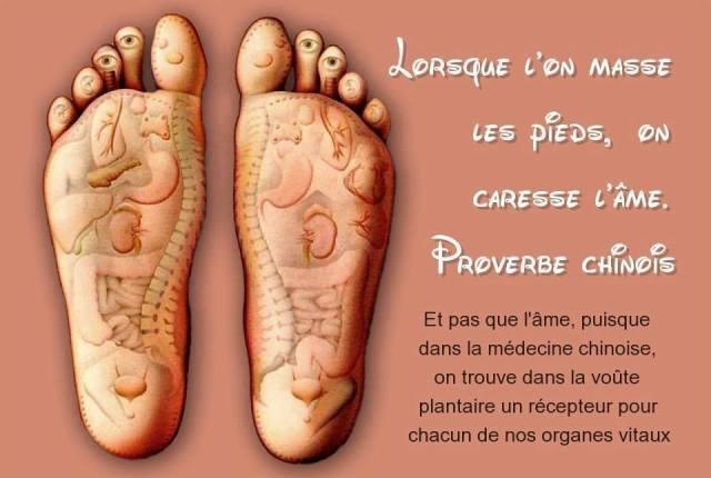 la santé par les pieds