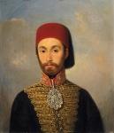 Portrait du Sultan Musulman Abdul Mershid qui aida les Irlandais