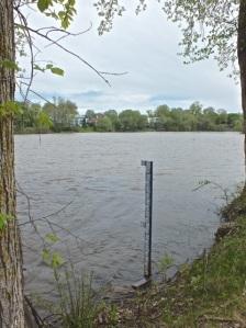 Le niveau de l'eau est très haut pour la saison - photo T-Bear 19 mai 14