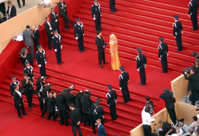 Festival de Cannes: la montée des marches