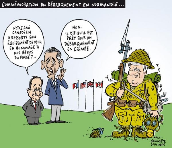 Harper débarquement Crimée