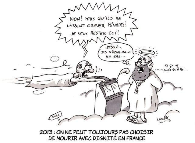 Mourir-avec-dignité en France