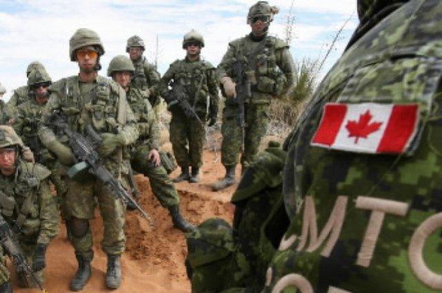 Soldats Canadiens  en Afghanistan