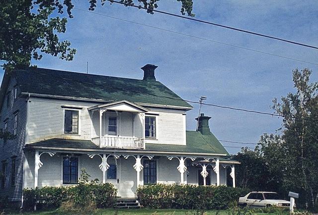 la maison de ferme à St-Antoine où T-Bear et sa famille avaient passé de si bons moments - T-Bear
