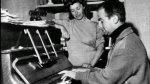 Jeanne et Louis au temps difficile où il était pianiste de cabaret
