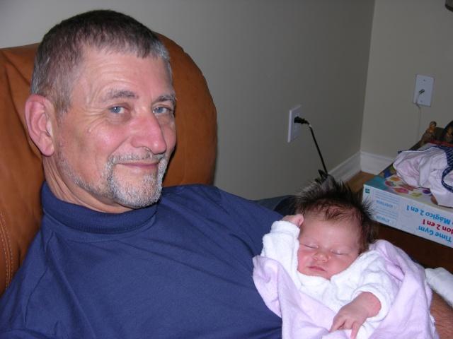il y a 10 ans, T-Bear grand-papa pour la 1ère fois avec sa Charlotte naissante