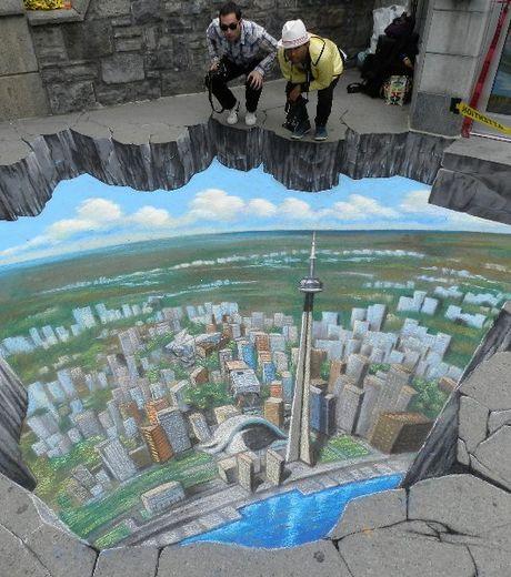 Peinture 3D illusioniste