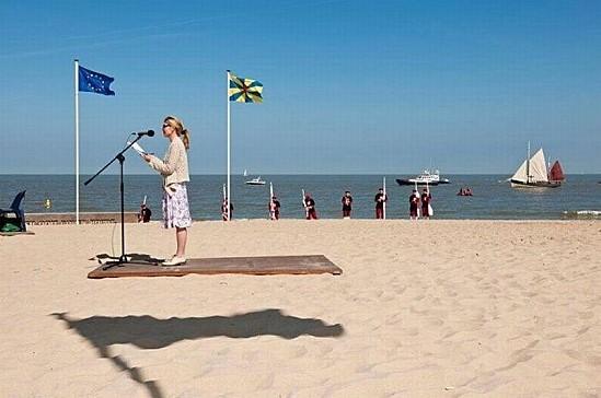 Une ombre au sol ne donne-t-elle pas l'illusion de la lévitation ou du tapis volant ?