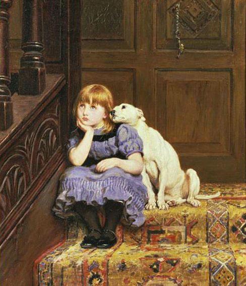Peinture de Briton Rivi;re