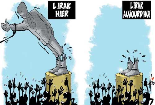 Irak hier et aujourd'hui