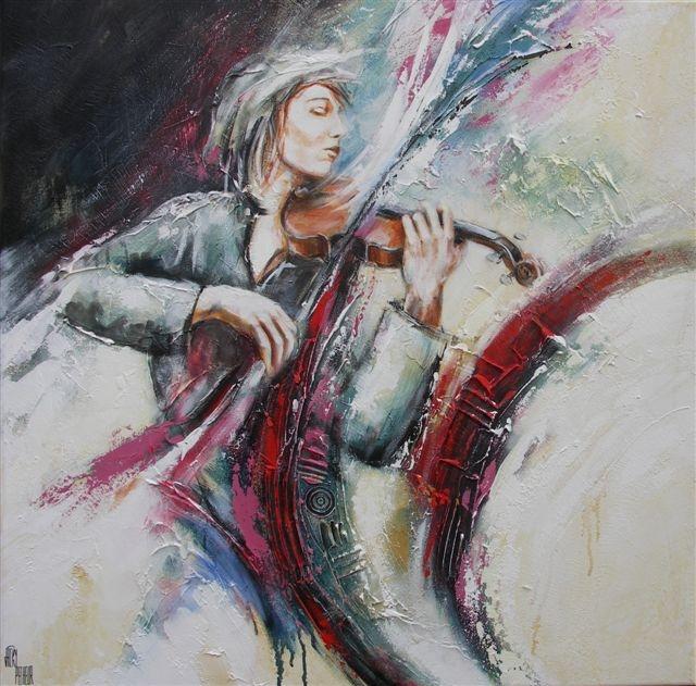 Peinture de Jacky Pecheur