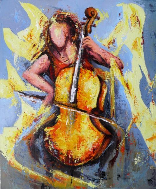 Peinture de Jean-Luc Lopez