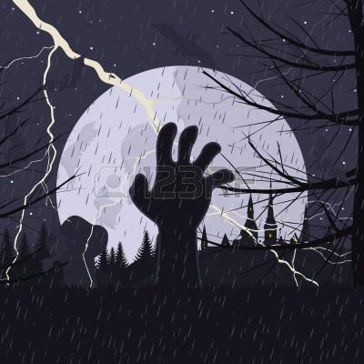 main hantée