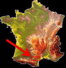 Situation de la Montagne Noire en France
