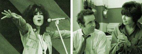 Pauline et en couple avec Gérald Godin