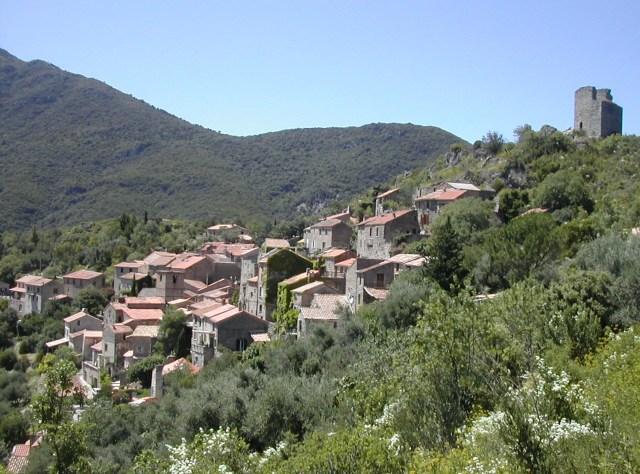 Village typique de la Montagne Noire
