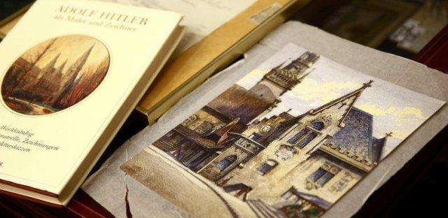 L'aquarelle signée Adolf Hitler vendue 130 000€