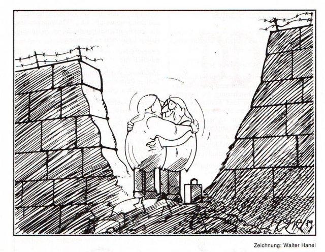 Le grand espoir à la chute du mur