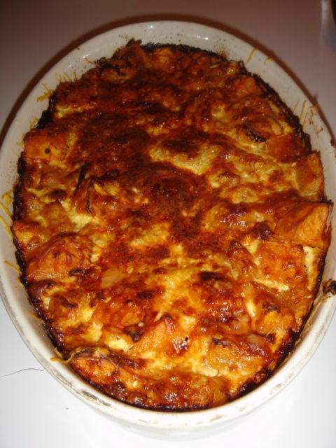 gratin potiron et patates douces