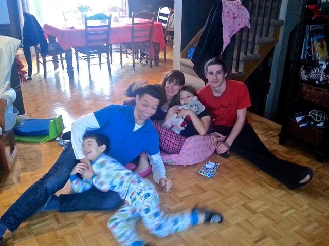 Jour de Noël chez Sara - photo T-Bear