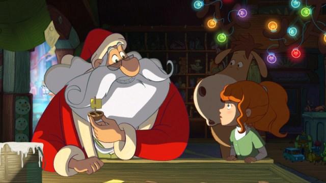 Tiré du filme d'animation : l'apprenti Père Noël