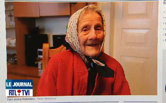 "Janina Kolkiewicz, 91 ans, photographiée avant sa ""mort"" et sa ""résurrection"""