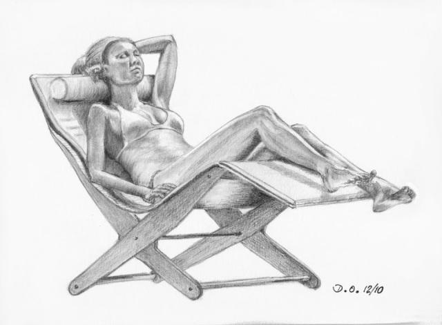 chaise longue 2N&B