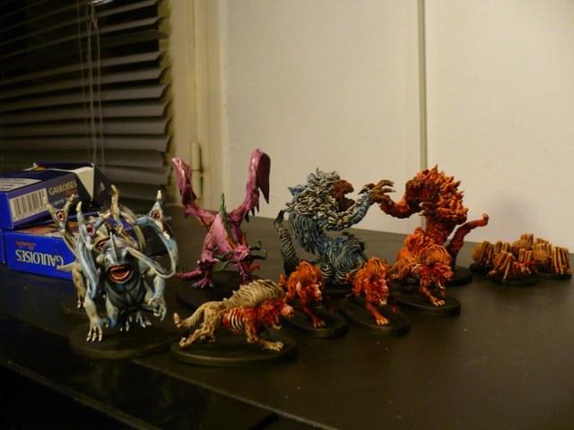 figurines monstres