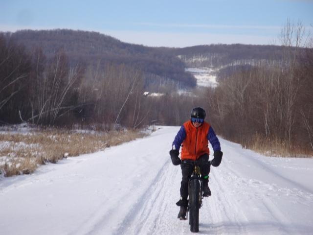 Jacques sur les routes de montagne - photo Madeleine