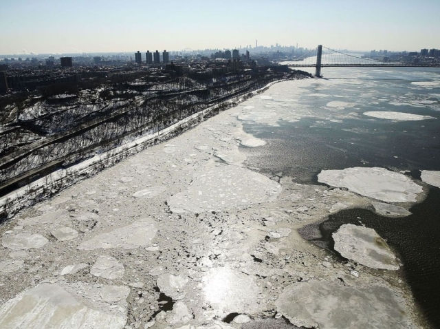 Arctic Cold Weather Chills New York City