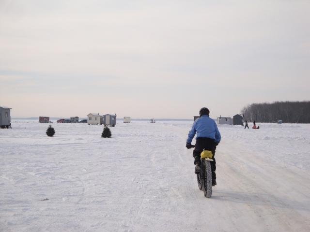 À la rencontre des pêcheurs sur glace - photo Madeleine