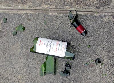 saint esthèphe bouteil cassée