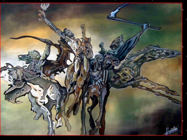 les 4 cavaliers de l'apocalypse - Hazoo